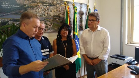 Vereador Ary Moura (PDT) se despede do comando do legislativo municipal