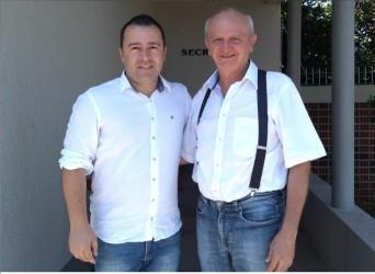 Juliano Maciel inicia tratativas para comemorar cinquentenário do Santuário