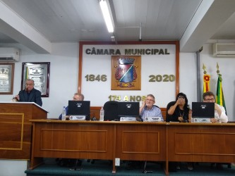 Nova Mesa Diretora assume os trabalho do legislativo