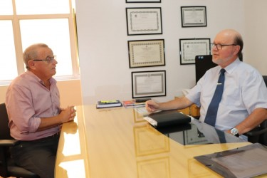 Presidente do Legislativo de Novo Hamburgo apoia ideia de Galperim para criação de Fórum Permanente das Câmaras