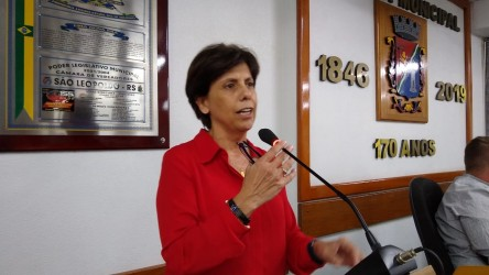 Vereadora Iara Cardoso (PDT) retorna ao legislativo nesta segunda-feira
