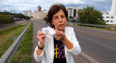 Vereadora Iara Cardoso pede para que as pessoas tomem cuidado em relação ao Covid-19