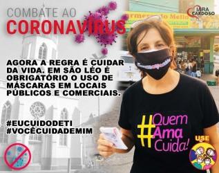 Vereadora Iara Cardoso propõe medida de sanitização em São Leopoldo