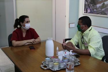 Brasil solicita reunião com Presidente do Hospital Centenário