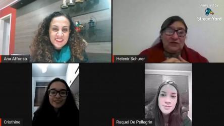 Educação pública gaúcha em debate na live da vereadora Ana Affonso
