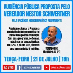 Audiência Pública vai discutir o Programa de Eficiência Hidroenergética do Semae u
