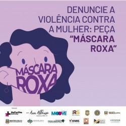 Ana Affonso solicita mobilização pela Campanha Máscara Roxa