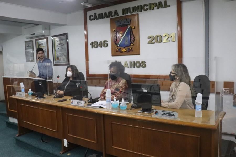 Câmara debate alteração na Lei do Conselho Municipal de Direitos Humanos