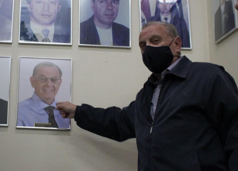 Inaugurada foto de Júlio Galperim na sala dos ex-presidentes da Câmara de São Leopoldo