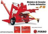 Moledora de cereales y fardos transportable Pirro JP 88