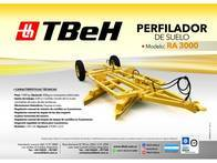 Perfiladora Tbeh Ra 3000
