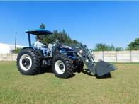 Pala Frontal Hidráulica OM-260-F (Para Tractor New Holland Tl 95)