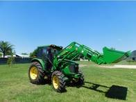 Pala Frontal OM-600-F Euro Base (Para Tractor John Deere 5090)
