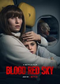 Céu vermelho-sangue