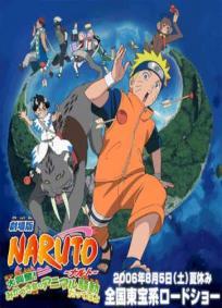 Naruto Filme 3 - A Revolta dos Animais da Lua Crescente!