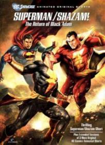 Superman e Shazam - O Retorno do Adão Negro