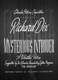 O Intruso Misterioso