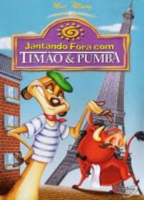 Jantando Fora com Timão e Pumba