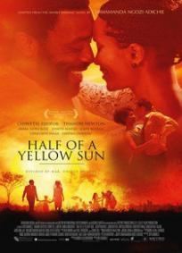 Metade de um sol amarelo