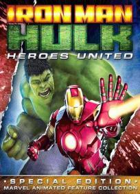 Homem de Ferro e Hulk - Super Herois Unidos