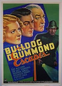 A Fuga de Bulldog Drummond