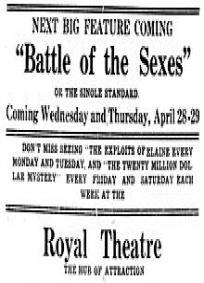 Guerra dos Sexos (1914)