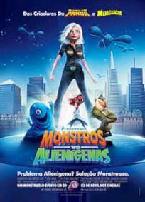 Monstros vs. Alienígenas