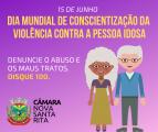 Dia Mundial de Combate e Conscientização Contra a Violência à Pessoa Idosa