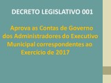 Decreto Legislativo  N° 001