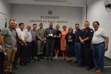 Câmara homenageia Coronel Oto Amorim e o Corpo de Bombeiros em Sessão Solene