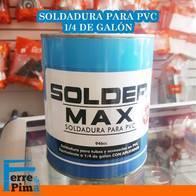 Soldadura Solder MAX para PVC 1.4 de galon