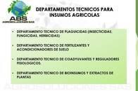 Asesoramiento Técnicos Para Insumos Agrícolas