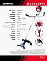 Guadaña Ducati Dbc5201Ts