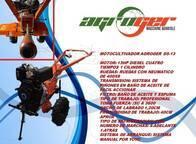 Motoazada Agroger Diesel De 14Hp Multimarchas