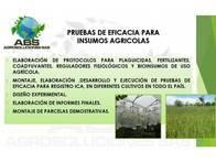 Pruebas De Eficacia Para Insumos Agrícolas