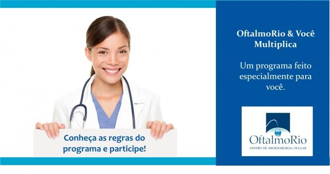 Programa de pontos do OftalmoRio. Conheça e participe.