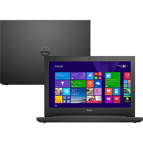 Notebook Dell Inspiron i14-3442-B10 Intel Core i3 4GB 1TB Tela LED 14