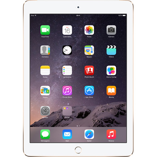 iPad Air 2 64GB Wi-Fi 4G Tela Retina 9.7