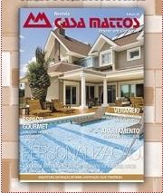 Anúncio de página inteira na revista Casa Mattos