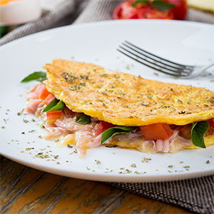 Omelete 20cm Salgado #DoSeuJeito