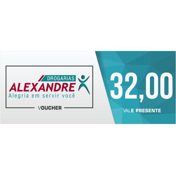 Vale presente R$ 32,00