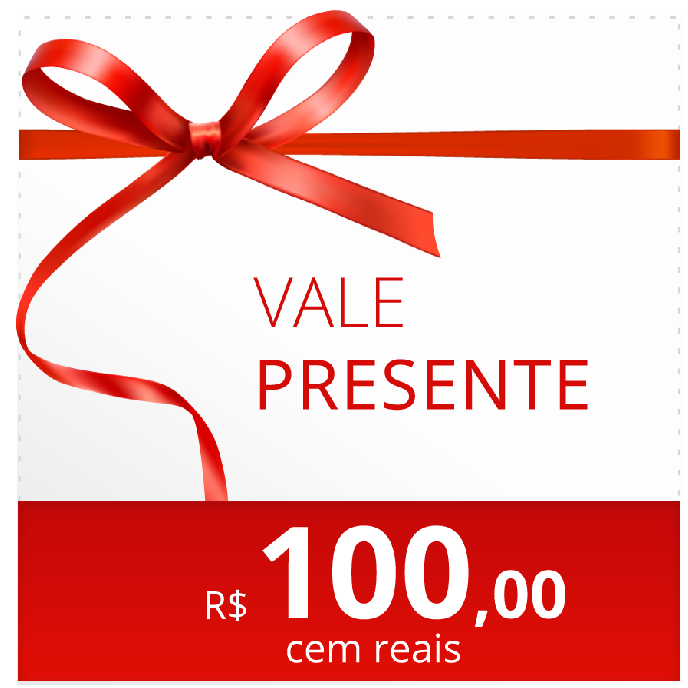 vale compra R$100,00