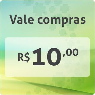 VALE COMPRA R$10,00