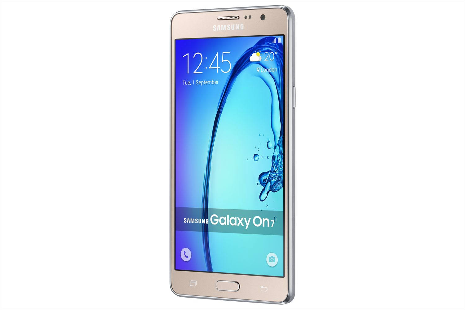 Galaxy On 7 Dourado 16 GB
