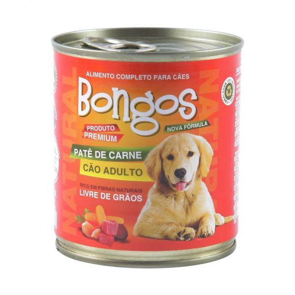 BONGOS LATA PARA CÃES SABOR CARNE 280G
