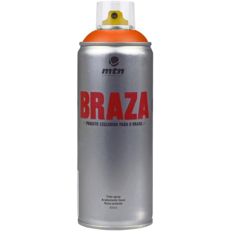 Tinta Spray MTN 400ml Braza RV-2004 Orange