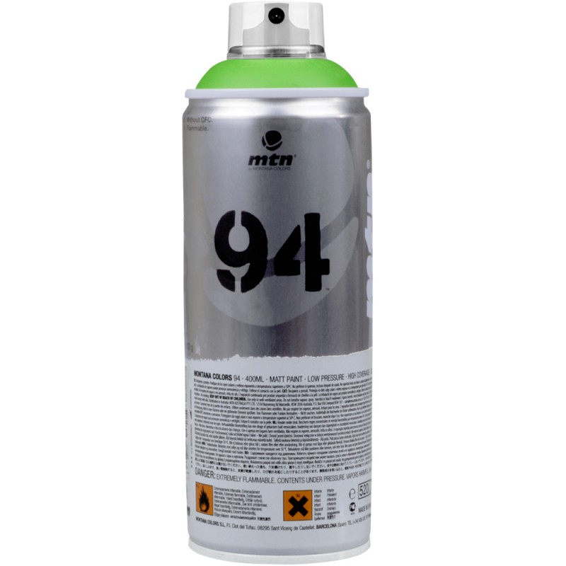 Tinta Spray MTN 400ml 94 RV-6018 Valley Green