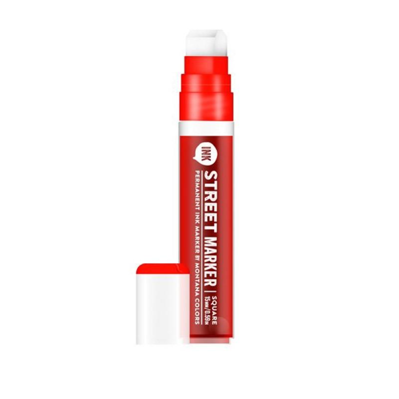 Marcador MTN Street Ink PMA-120 - Vermelho