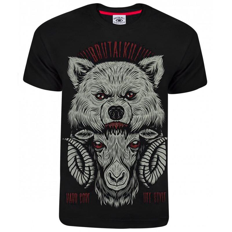 Camiseta Brutal Kill Heavy Preto