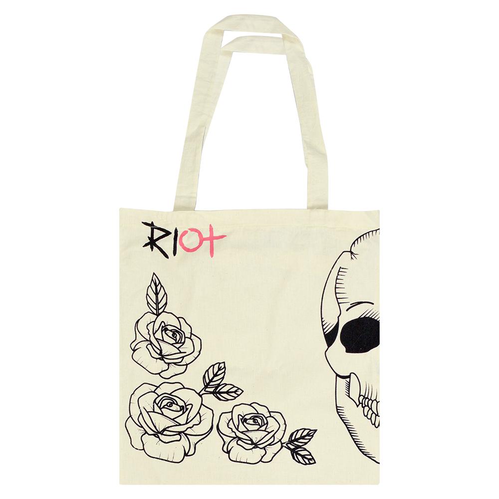 Eco Bag Riot Skull